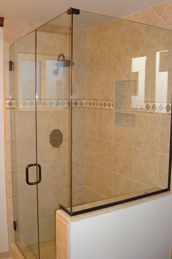 frameless glass shower door cost 2