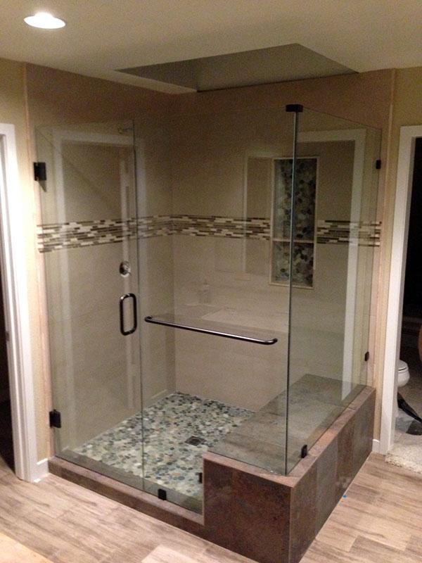 Shower Doors Corona Del Mar Frameless Shower Glass