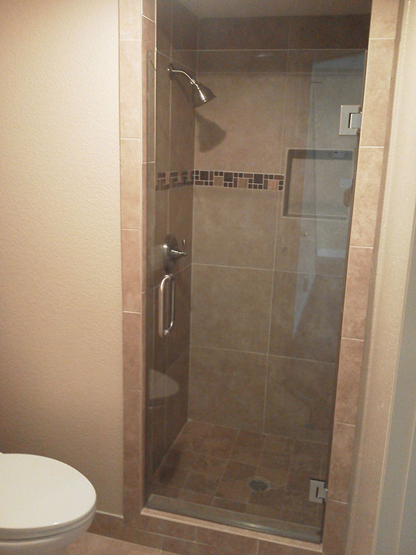 Shower doors placentia frameless shower glass placentia for Frameless glass doors