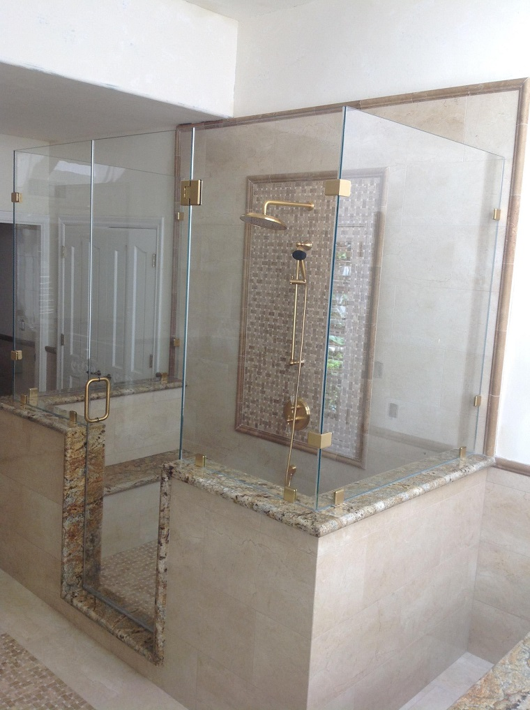 Shower Doors Orange County, Frameless Shower Glass in OC, California ...