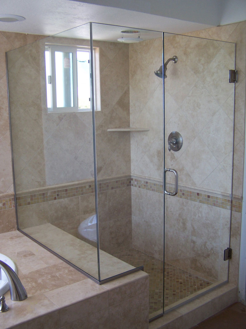 Shower Doors Fullerton - Frameless Shower Glass Fullerton, CA ...