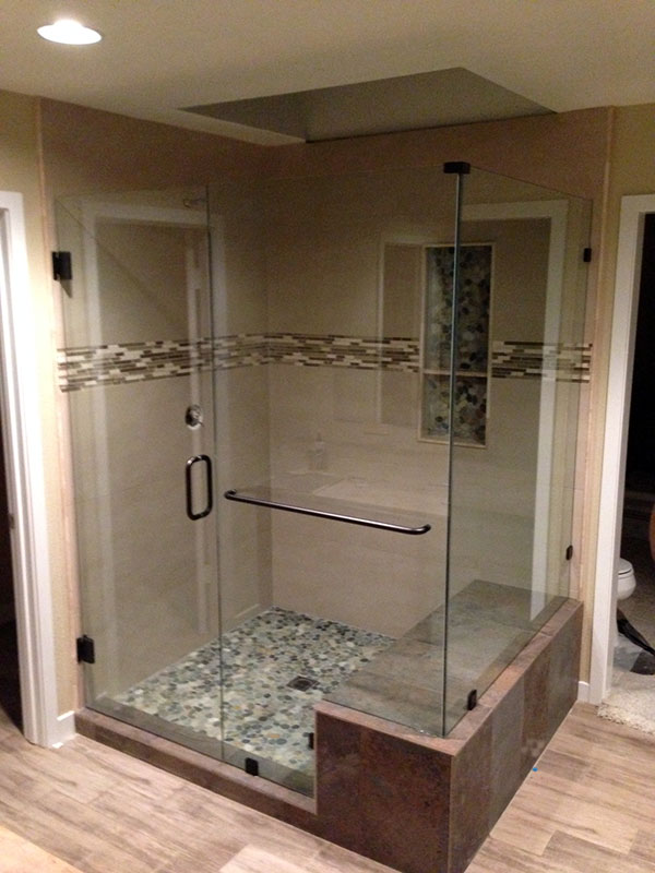 precision gallery shower doors n door frameless photo feature glass