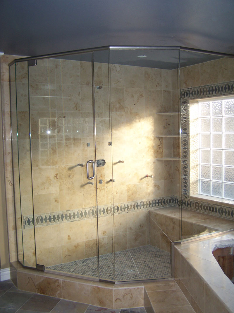 Shower Doors Oceanside - Frameless Shower Glass Oceanside, CA ...