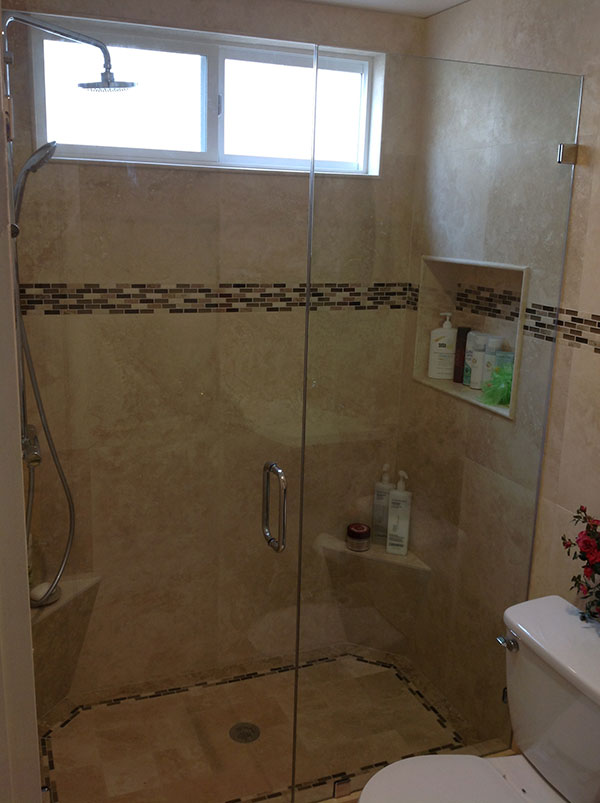 frameless shower doors in san clemente ca view portfolio