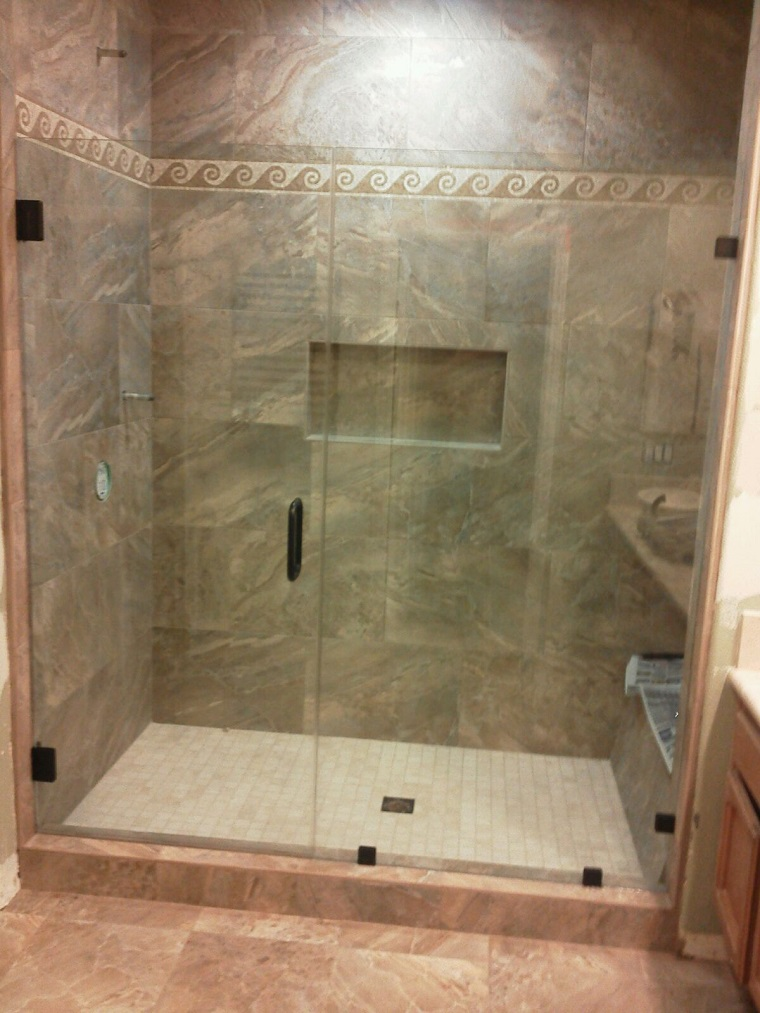shower door panel in line aliso viejo ca