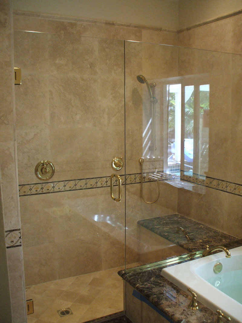Shower doors irvine frameless shower glass irvine ca local two panel shower glass doornewport beach ca eventelaan Gallery