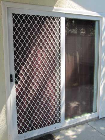 Door Screen View Portfolio & Window Screens u0026 Door Screens Orange County Local Glass u0026 Screen ...